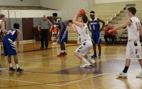 Boys' Varsity Basketball wins against Somerville 68-57