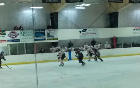 Girls' Hockey skates past Woburn 2-1