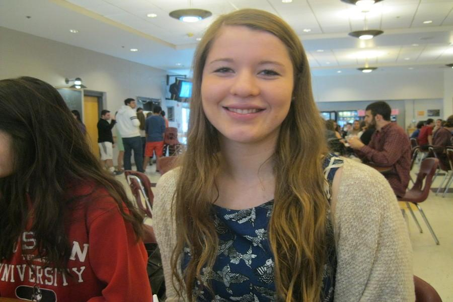 Senior Kat Vlach chose to stay at WA and not participate in Capstone.
