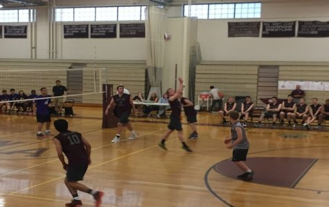 Photos: Boys' Volleyball beats Boston Latin