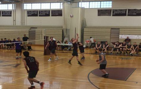 Photos: Boys' Volleyball beats Boston Latin