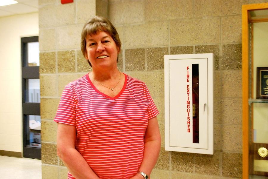 Math coordinator Kathy Coughlin
