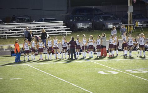 Photos: Field hockey wins big under the lights