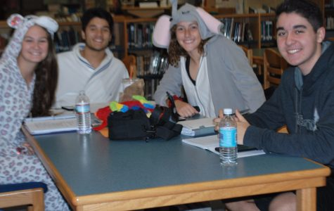 Spirit Week 2016: PJ Day