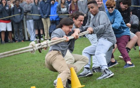 The class of 2019 are putting their strength to the test against the Junior class