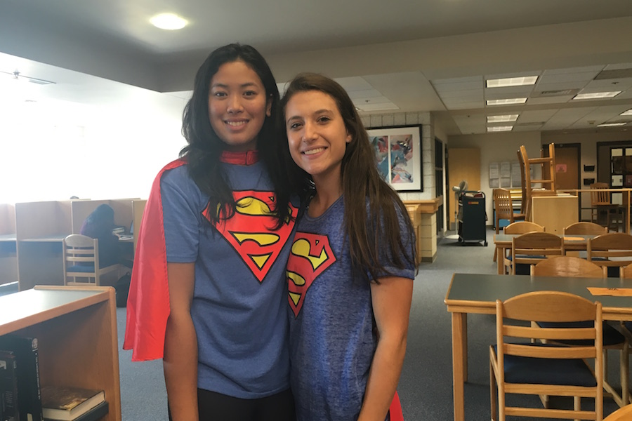 Maddy+Twogood+and+Veronica+Op+are+superheroes+in+the+library