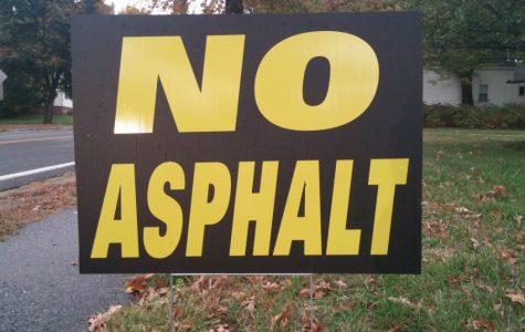 Disgruntled citizens rally as No Asphalt meeting is postponed