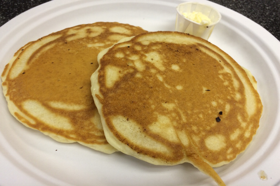 Pancakes from Forage Village Breakfast
