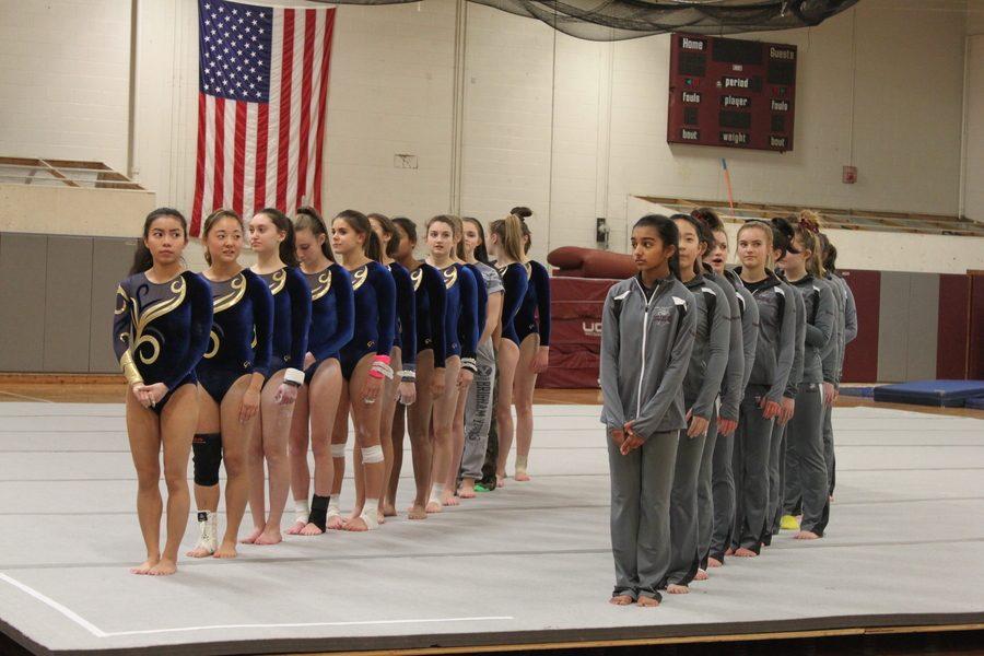 The+WA+Varsity+Gymnastics+team+faces+off+against+Acton-Boxborough