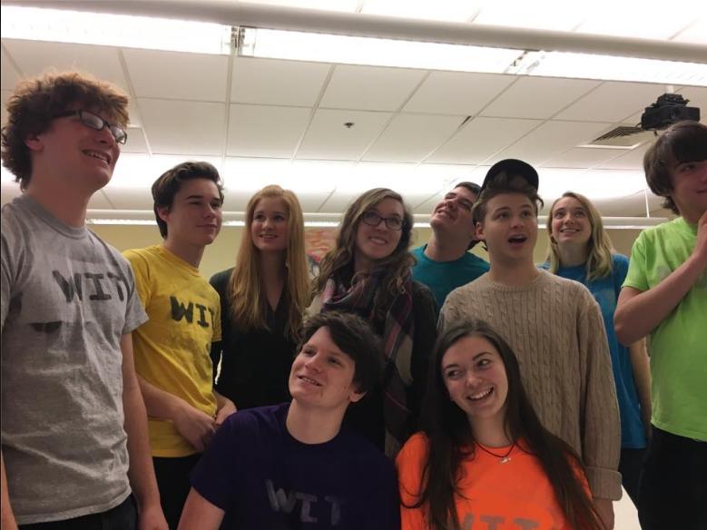 The members of the Westford Improv Troop.