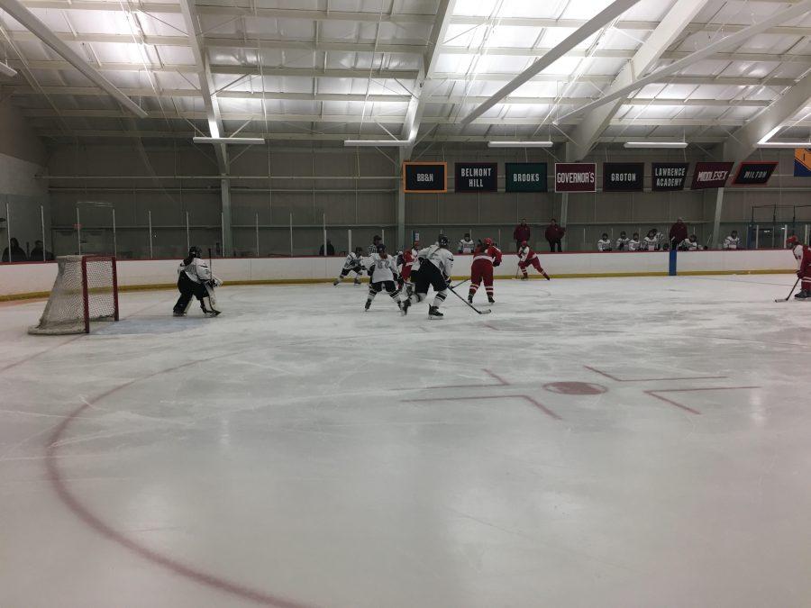 Girls' hockey takes down Waltham 5-2