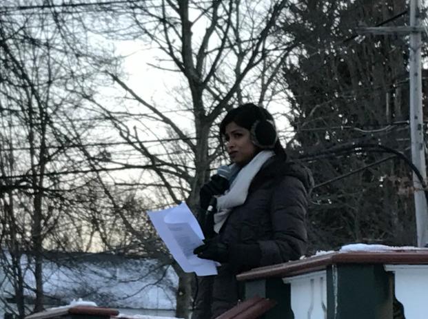 Padma+Sonti+speaking+at+Vigil.