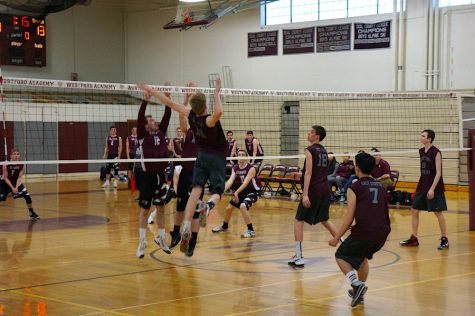 Boys' Volleyball rises and falls to Chelmsford