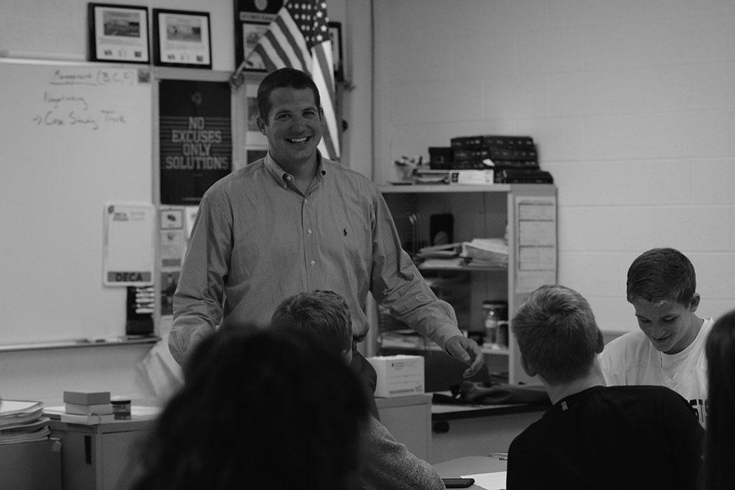 Gagne teaches a class
