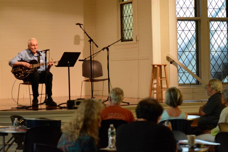 The+Parish+Center+of+Arts+held+an+Open+Mic+Night+on+June+11