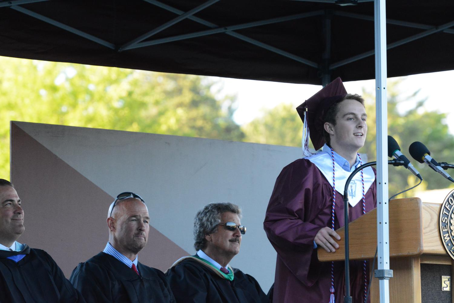 2017+Class+President+Daniel+Koerner+speaks+to+his+peers+for+the+last+time%2C+reflecting+on+his+time+at+WA%2C+and+how+he+learned+to+move+out+of+his+comfort+zone.