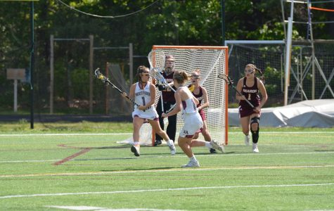 Girls' Lax takes down Sharon High in MIAA quarterfinal