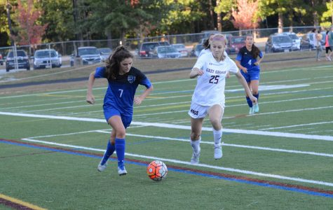 WA Girls' Varsity Soccer defeats Bedford, 2-1