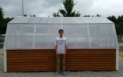 O'Connell contributes to community with a greenhouse