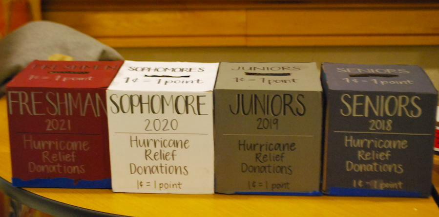 The+donation+boxes+for+Puerto+Rico+located+at+lunch