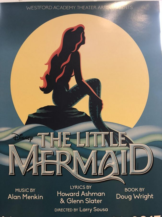 The WATA poster for Disneys The LIttle Mermaid