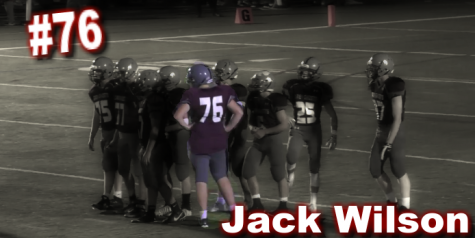 Jack Wilson takes his talents to the varsity line