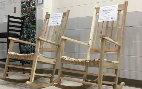 Rocking chairs to reduce stress at WA