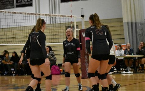 WA Girls' Volleyball loses to Cambridge R&L