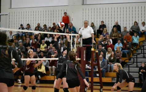 Girls' Volleyball sweeps Groton-Dunstable at regional semis
