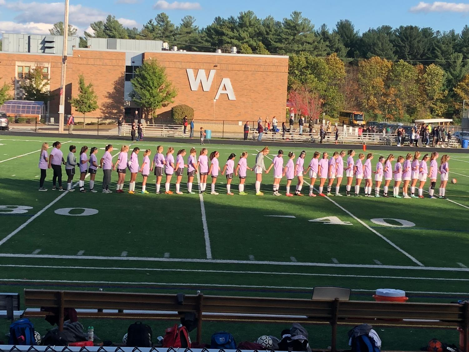 Taken on October 31, 2017 at the WA girls varsity soccer game against Chelmsford
