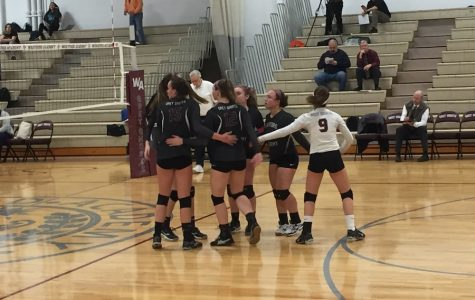 Girls' Volleyball Wins 3-1 against Needham