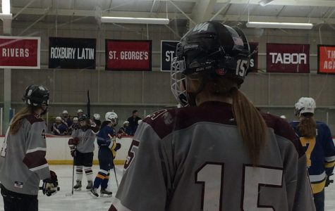 Girls' Hockey caps off senior night with rivalry win
