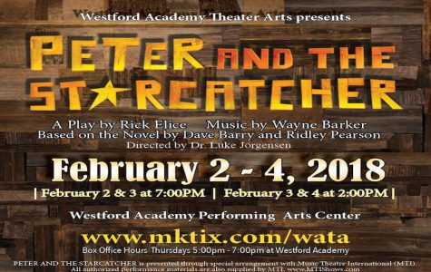 Westford Academy Theater Arts presents Disney Comedy Peter and the Starcatcher