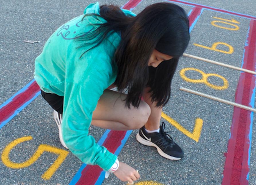Club leader, sophomore Allie Lu, works at the Miller School.