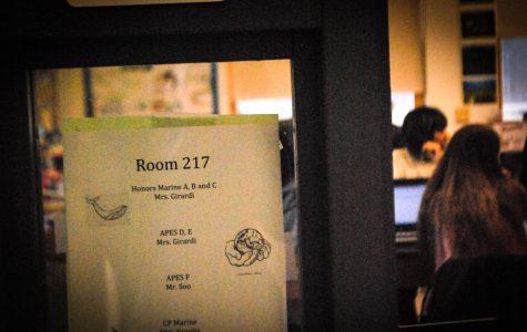 A close-up shot on Alt-ed's room 217.