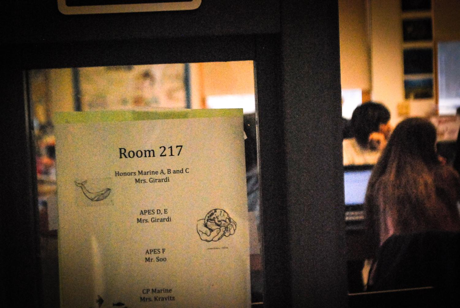 A close-up shot on Alt-ed's room 217.
