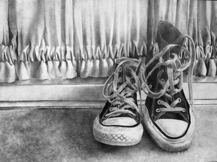 Chaffiotte and Sequeira win national silver medals for their artwork