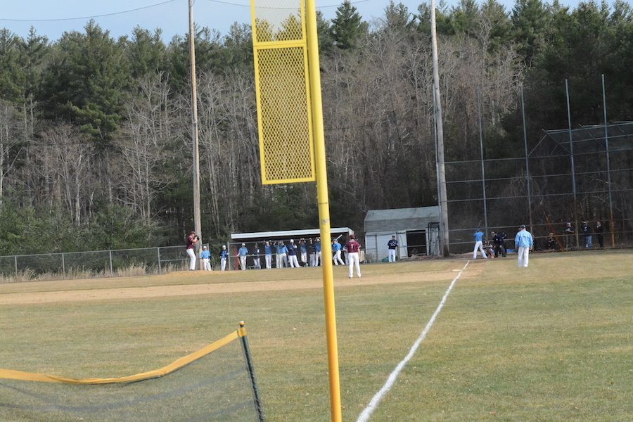 Westford+Academy+Boys+Baseball+takes+on+Dracut+on+a+perfect+spring+afternoon.