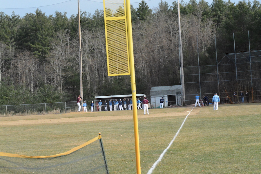 Westford Academy Boys Baseball takes on Dracut on a perfect spring afternoon.