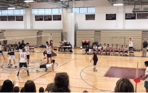 Boys' Volleyball loses to AB