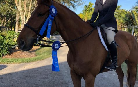Kate Coffey rides to College of Charleston