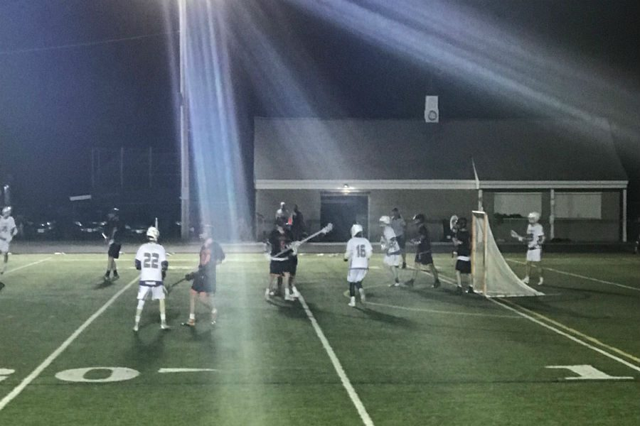Young Boys' Lacrosse players shine despite loss to Wayland