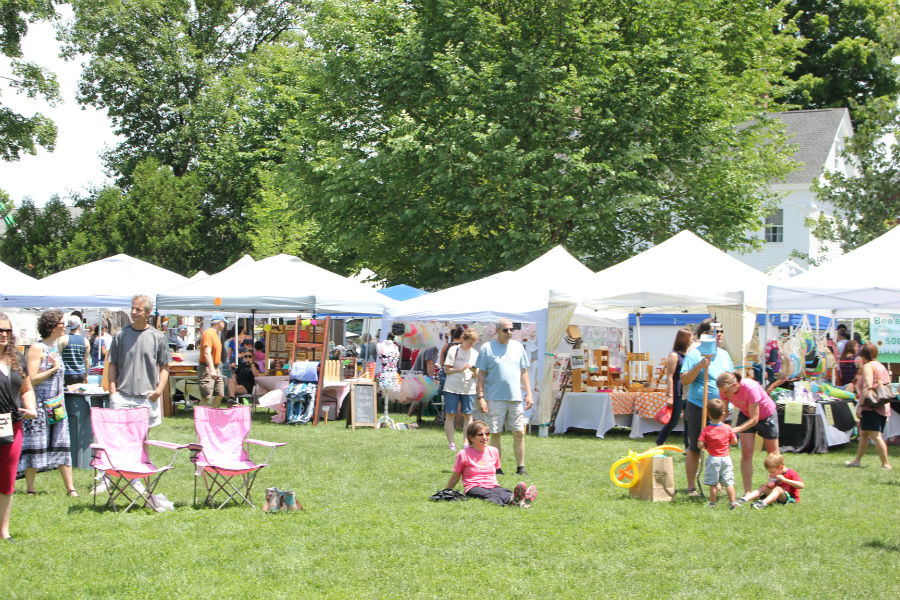The+43rd+annual+Strawberry+Festival+is+held+in+the+Westford+Common.