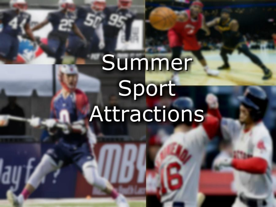 Sports Entertainment in the area this summer