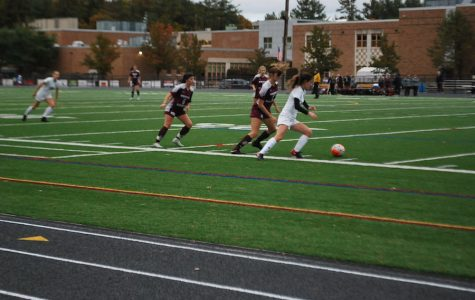 Girls' Soccer shuts out Cambridge in last game of regular season