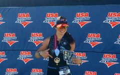 Vallone sets an example for future triathletes