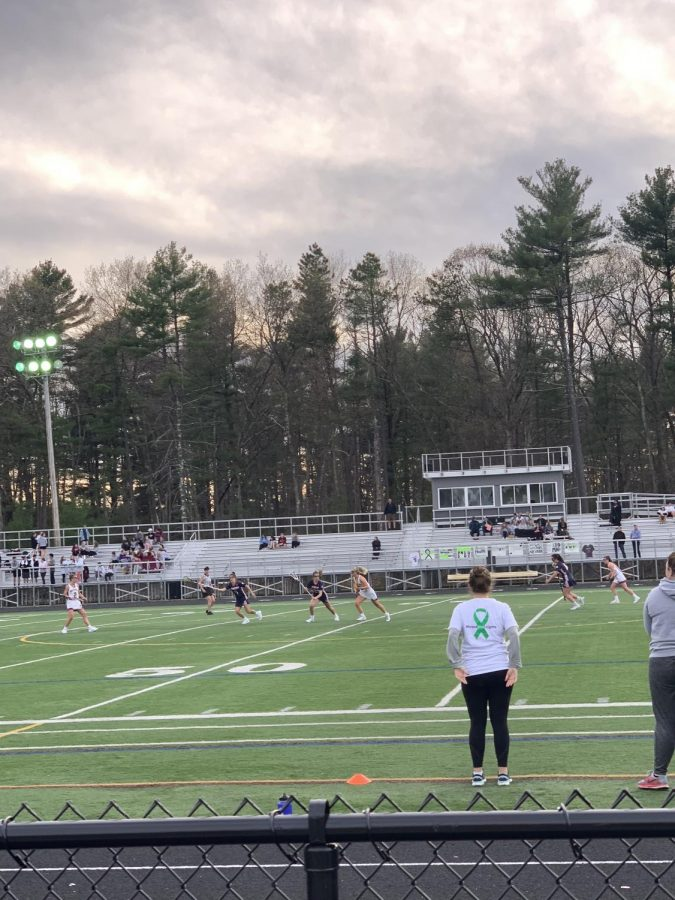 Westford Academy battles Lincoln-Sudbury.