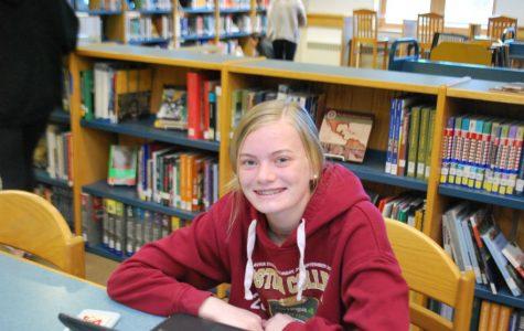 Freshman Grace Carroll: