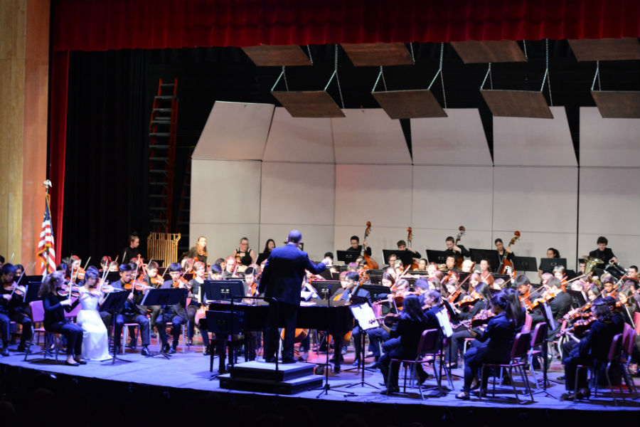 Chorus and orchestra students perform at their 2019 Spring Concert