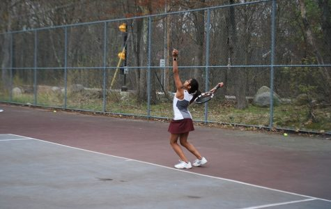 WA girls' varsity tennis suffers loss to Concord-Carlisle